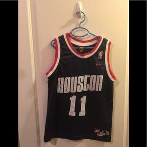 Nike Houston Rockets #11 Yao Ming Youth S Jersey